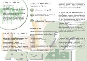 Agenda21 Venosa - Brochure p. 2