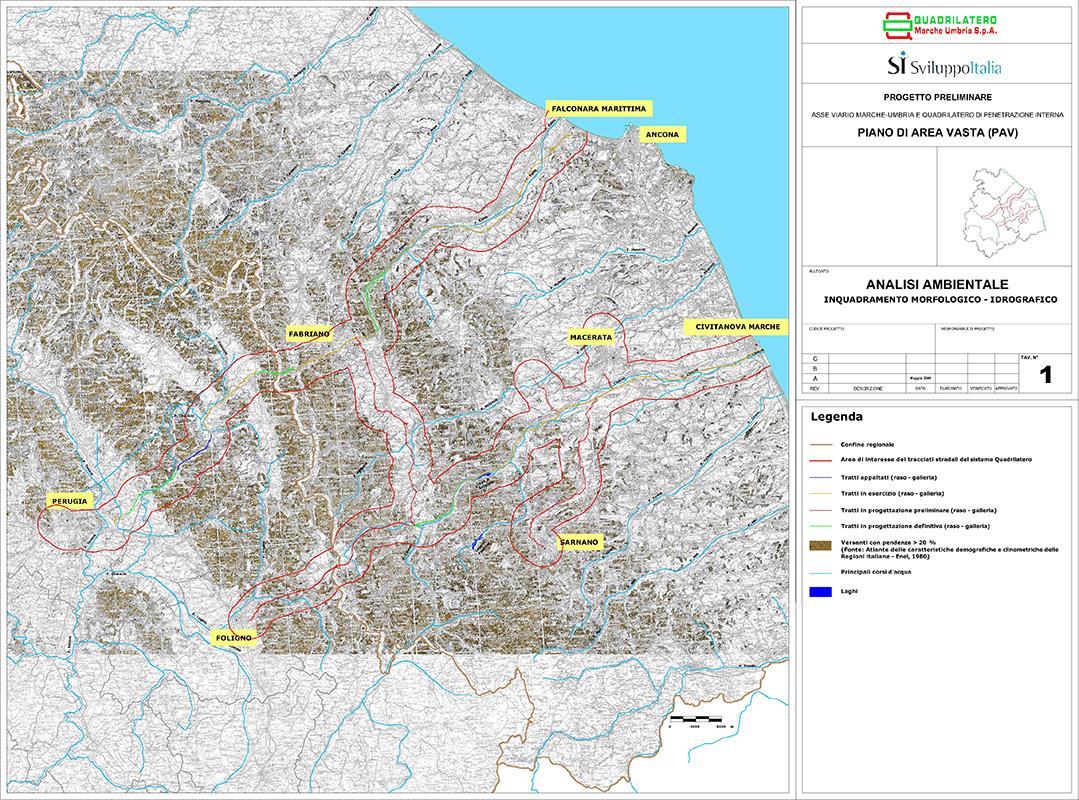 Analisi ambientale strategica del progetto piano di area for 1 piano piano di storia