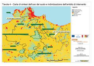 Uso del suolo e ambito di intervento