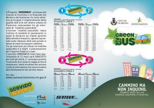 Fiumicino GreenBus brochure esterno