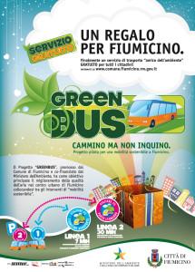 Fiumicino GreenBus locandina
