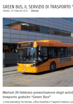 Fiumicino Green Bus
