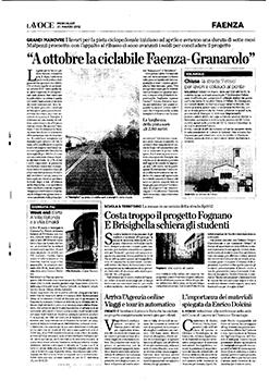 Pista ciclabile Faenza - Granarolo