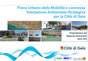 Gela Piano Urbano Mobilità e VAS